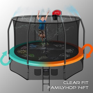 Батут CLEAR FIT FAMILY HOP 14 FT