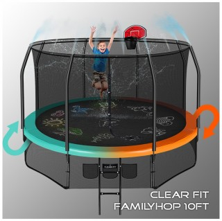 Батут CLEAR FIT FAMILY HOP 10 FT