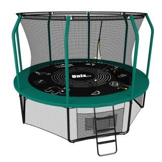 Батут UNIX line 8FT SUPREME GAME (green)